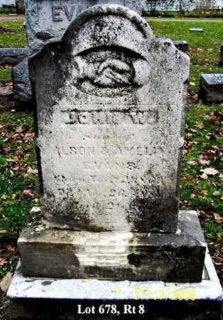 EVANS, JOHN W - Calhoun County, Michigan | JOHN W EVANS - Michigan Gravestone Photos