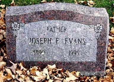 EVANS, JOSEPH F - Calhoun County, Michigan | JOSEPH F EVANS - Michigan Gravestone Photos