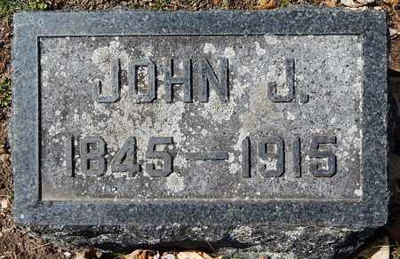 EVANS, JOHN J - Calhoun County, Michigan | JOHN J EVANS - Michigan Gravestone Photos