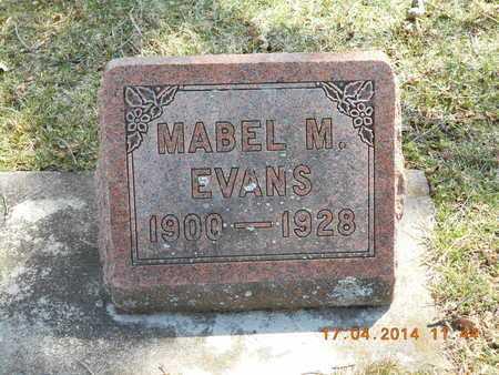 EVANS, MABEL M. - Calhoun County, Michigan | MABEL M. EVANS - Michigan Gravestone Photos