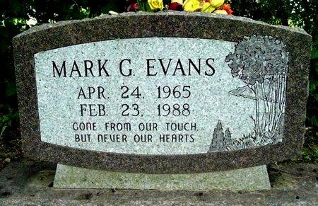 EVANS, MARK G - Calhoun County, Michigan | MARK G EVANS - Michigan Gravestone Photos
