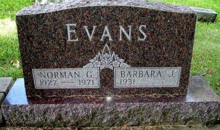EVANS, NORMAN G. - Calhoun County, Michigan | NORMAN G. EVANS - Michigan Gravestone Photos