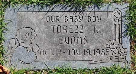 EVANS, TOREZZ T - Calhoun County, Michigan | TOREZZ T EVANS - Michigan Gravestone Photos