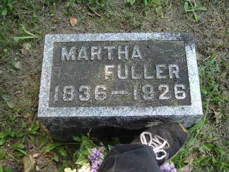 FULLER, MARTHA - Calhoun County, Michigan | MARTHA FULLER - Michigan Gravestone Photos
