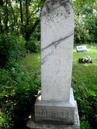 GARWELL, WILLIAM - Calhoun County, Michigan | WILLIAM GARWELL - Michigan Gravestone Photos