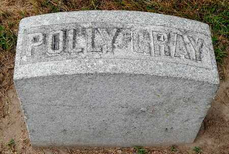 GRAY, POLLY - Calhoun County, Michigan | POLLY GRAY - Michigan Gravestone Photos