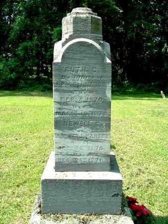 HANSON, NEWELL C. - Calhoun County, Michigan | NEWELL C. HANSON - Michigan Gravestone Photos