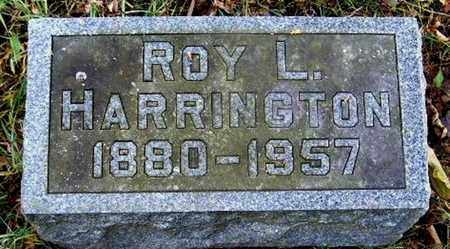 HARRINGTON, ROY LEE - Calhoun County, Michigan | ROY LEE HARRINGTON - Michigan Gravestone Photos