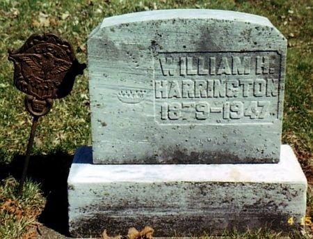 HARRINGTON, WILLIAM H. - Calhoun County, Michigan | WILLIAM H. HARRINGTON - Michigan Gravestone Photos