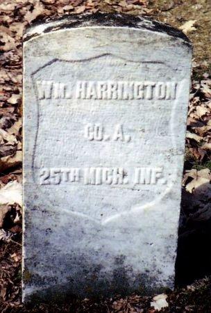 HARRINGTON, WILLIAM - Calhoun County, Michigan   WILLIAM HARRINGTON - Michigan Gravestone Photos