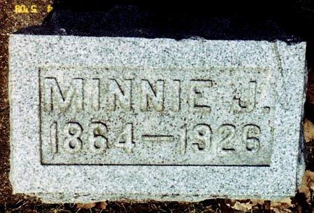 HAYDEN, MINNIE - Calhoun County, Michigan | MINNIE HAYDEN - Michigan Gravestone Photos