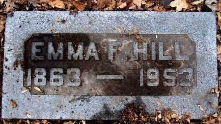 HILL, EMMA F - Calhoun County, Michigan | EMMA F HILL - Michigan Gravestone Photos