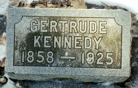 KENNEDY, GERTRUDE - Calhoun County, Michigan   GERTRUDE KENNEDY - Michigan Gravestone Photos
