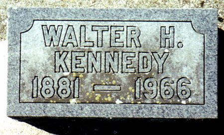 KENNEDY, WALTER - Calhoun County, Michigan | WALTER KENNEDY - Michigan Gravestone Photos