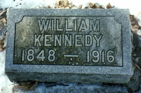 KENNEDY, WILLIAM - Calhoun County, Michigan | WILLIAM KENNEDY - Michigan Gravestone Photos