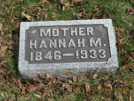 LINDSEY, HANNAH M. - Calhoun County, Michigan | HANNAH M. LINDSEY - Michigan Gravestone Photos