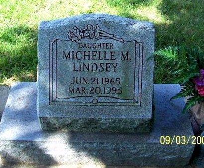 LINDSEY, MICHELLE M - Calhoun County, Michigan   MICHELLE M LINDSEY - Michigan Gravestone Photos