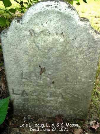 MASON, LOIS - Calhoun County, Michigan | LOIS MASON - Michigan Gravestone Photos