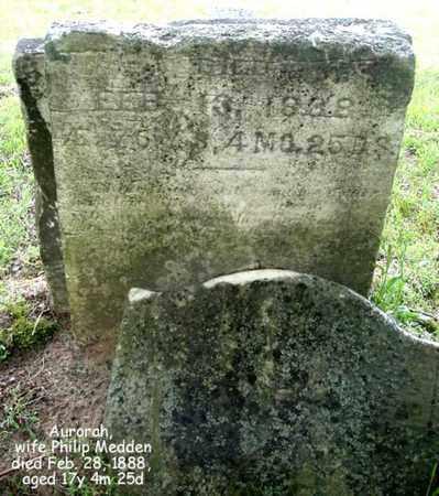 MELLEN, AURORAH - Calhoun County, Michigan | AURORAH MELLEN - Michigan Gravestone Photos