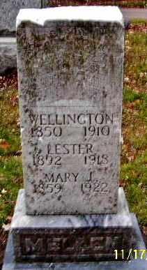 MELLEN, WELLINGTON - Calhoun County, Michigan | WELLINGTON MELLEN - Michigan Gravestone Photos