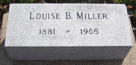 MILLER, LOUISE B - Calhoun County, Michigan   LOUISE B MILLER - Michigan Gravestone Photos