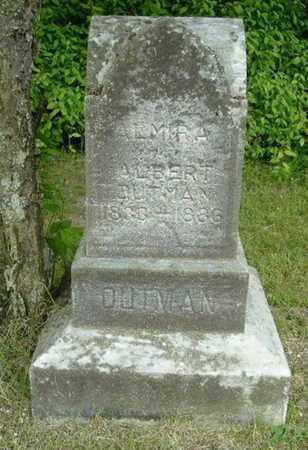 OUTMAN, ALMIRA - Calhoun County, Michigan | ALMIRA OUTMAN - Michigan Gravestone Photos