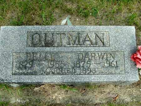 OUTMAN, BELLE - Calhoun County, Michigan | BELLE OUTMAN - Michigan Gravestone Photos
