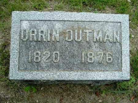 OUTMAN, ORRIN - Calhoun County, Michigan | ORRIN OUTMAN - Michigan Gravestone Photos