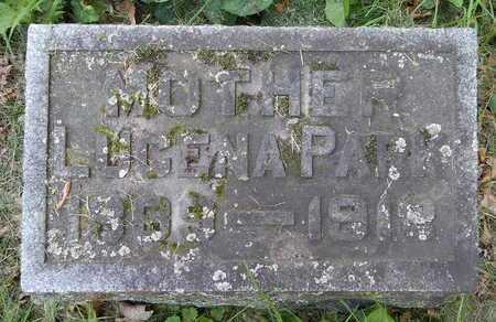 PARK, LUCENA - Calhoun County, Michigan   LUCENA PARK - Michigan Gravestone Photos