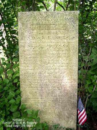 ROGERS, WILLIAM G. - Calhoun County, Michigan   WILLIAM G. ROGERS - Michigan Gravestone Photos