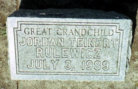 RULEWICZ, JORDAN - Calhoun County, Michigan | JORDAN RULEWICZ - Michigan Gravestone Photos