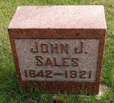 SALES, JOHN J - Calhoun County, Michigan | JOHN J SALES - Michigan Gravestone Photos