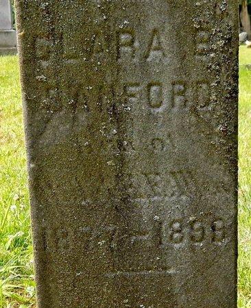 SANFORD, CLARA B - Calhoun County, Michigan | CLARA B SANFORD - Michigan Gravestone Photos