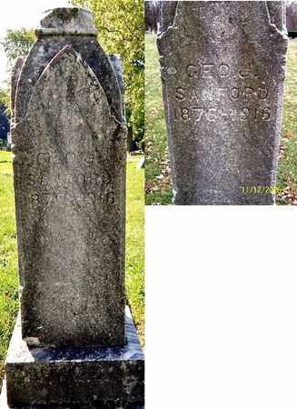 SANFORD, GEORGE J - Calhoun County, Michigan   GEORGE J SANFORD - Michigan Gravestone Photos