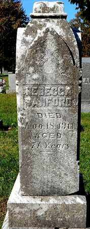 SANFORD, REBECCA - Calhoun County, Michigan | REBECCA SANFORD - Michigan Gravestone Photos