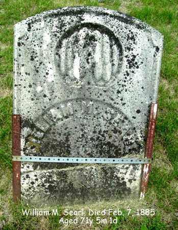 SEARL, WILLIAM M. - Calhoun County, Michigan | WILLIAM M. SEARL - Michigan Gravestone Photos