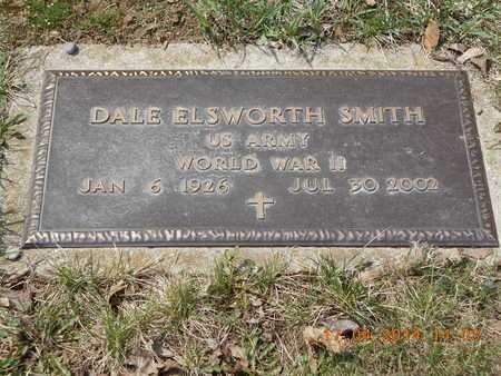 SMITH, DALE ELSWORTH - Calhoun County, Michigan   DALE ELSWORTH SMITH - Michigan Gravestone Photos