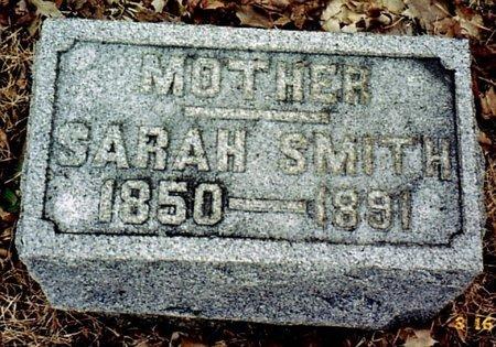SMITH, SARAH - Calhoun County, Michigan | SARAH SMITH - Michigan Gravestone Photos