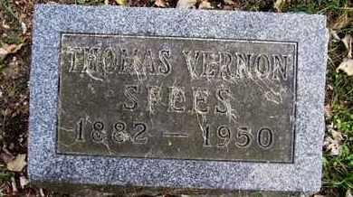 SPEES, THOMAS V - Calhoun County, Michigan   THOMAS V SPEES - Michigan Gravestone Photos