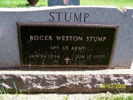 STUMP, ROGER W - Calhoun County, Michigan | ROGER W STUMP - Michigan Gravestone Photos