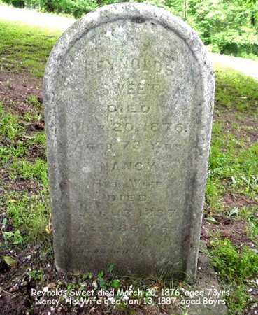 SWEET, NANCY - Calhoun County, Michigan | NANCY SWEET - Michigan Gravestone Photos