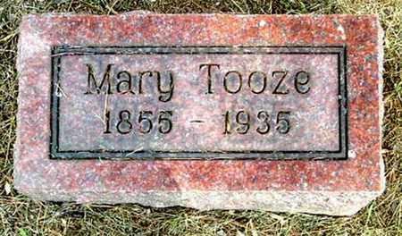 TOOZE, MARY - Calhoun County, Michigan   MARY TOOZE - Michigan Gravestone Photos