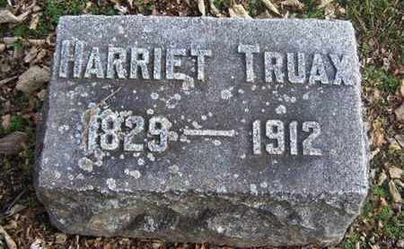 TRUAX, HARRIET - Calhoun County, Michigan | HARRIET TRUAX - Michigan Gravestone Photos