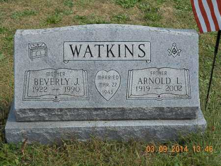 WATKINS, ARNOLD L. - Calhoun County, Michigan | ARNOLD L. WATKINS - Michigan Gravestone Photos