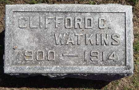 WATKINS, CLIFFORD C - Calhoun County, Michigan | CLIFFORD C WATKINS - Michigan Gravestone Photos