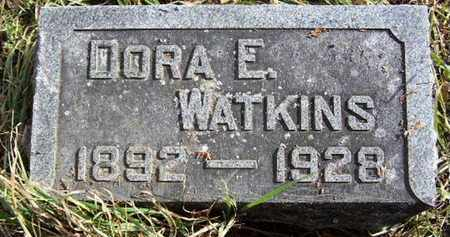WATKINS, DORA E - Calhoun County, Michigan | DORA E WATKINS - Michigan Gravestone Photos