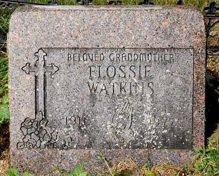 WATKINS, FLOSSIE - Calhoun County, Michigan   FLOSSIE WATKINS - Michigan Gravestone Photos