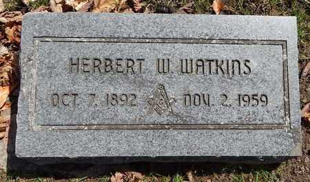 WATKINS, HERBERT W - Calhoun County, Michigan | HERBERT W WATKINS - Michigan Gravestone Photos