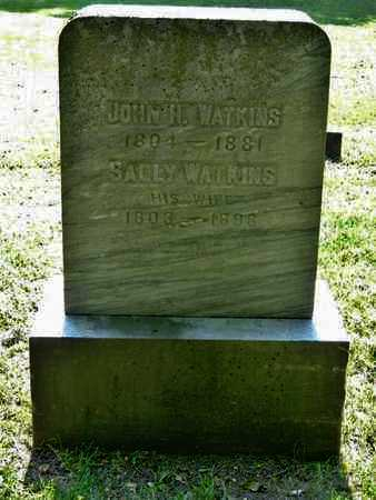 WATKINS, JOHN H. - Calhoun County, Michigan | JOHN H. WATKINS - Michigan Gravestone Photos