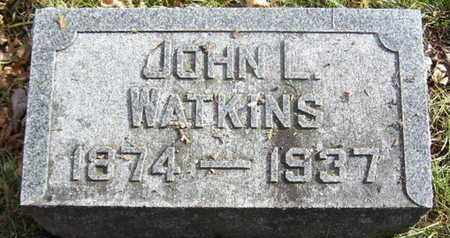 WATKINS, JOHN L - Calhoun County, Michigan | JOHN L WATKINS - Michigan Gravestone Photos